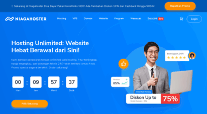 niagahoster.co.id - web hosting indonesia unlimited & terbaik - niagahoster