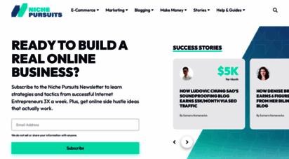 nichepursuits.com - niche pursuits - find business ideas, niche websites, and much more!