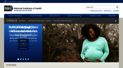 nih.gov - national institutes of health nih  turning discovery  health