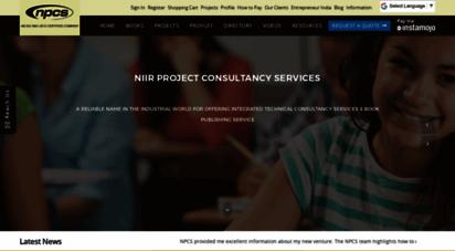 similar web sites like niir.org