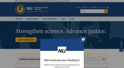 nij.gov - national institute of justice: criminal justice research, development and evaluation