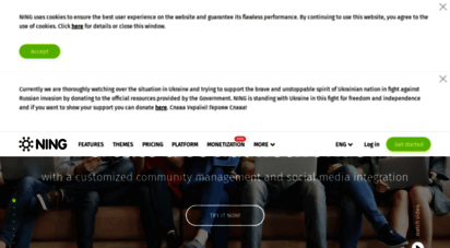 ning.com - create your own social network with the best community website builder - ning