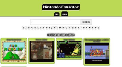 nintendoemulator.com - .nintendo emulator... play online nes, snes games...