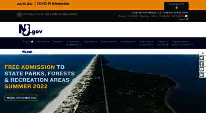 nj.gov - the official web site for the state of new jersey