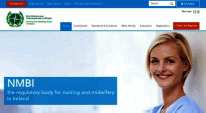 nmbi.ie - nmbi - nursing and midwifery board of ireland home