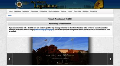 nmlegis.gov - new mexico legislature