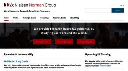 nngroup.com - nielsen norman group: ux training, consulting, & research
