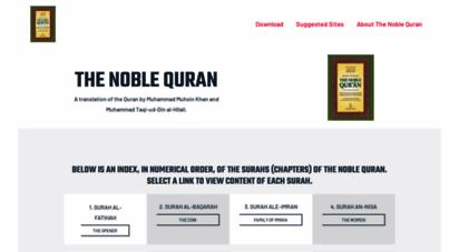 noblequran.com - noble quran.com - islamic audio recitation of the quran in mp3