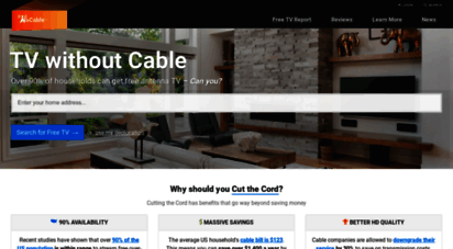 nocable.org - antenna tv experts - free tv cutting the cord & cable tv alternatives