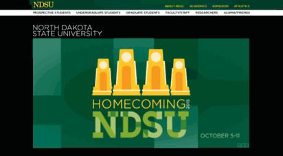 nodak.edu - ndsu - north dakota state university