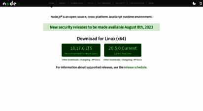 nodejs.org - node.js
