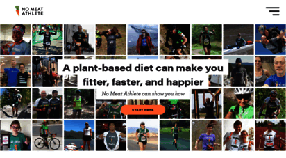 nomeatathlete.com - plant-based diet for athletes  vegan fitness  no meat athlete