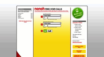 nonoh free calls