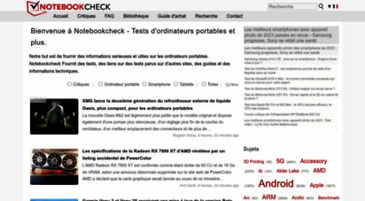 notebookcheck.biz - revues et rapports de ordinateurs portatifs et smartphones, ordiphones - notebookcheck.fr