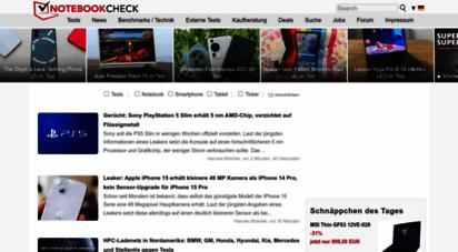 notebookcheck.com - notebook test, laptop test und news - notebookcheck.com