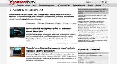 notebookcheck.it - recensioni e prove di notebook, tablets e smartphones - notebookcheck.it