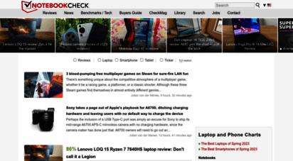 notebookcheck.net - notebook / laptop reviews and news - notebookcheck.net