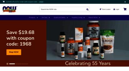 nowfoods.com - now foods  vitamins  supplements  essential oils