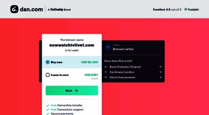 nowwatchtvlive1.com -