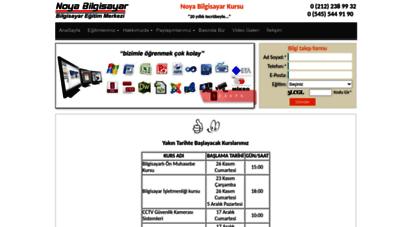 noyabilgisayar.net - noya bilgisayar kursu