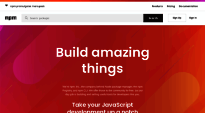 npmjs.org -