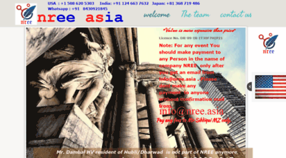 Welcome to Nree asia - Welcome