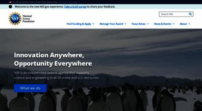 nsf.gov - nsf - national science foundation