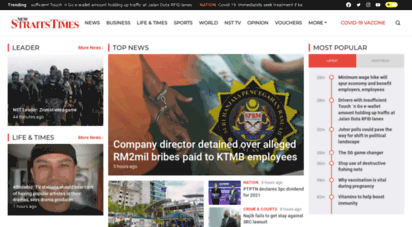 nst.com.my - home  new straits times  malaysia general business sports and lifestyle news
