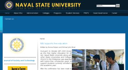 nsu.edu.ph - official website of naval state university :. premier maritime university in region 8