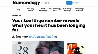 numerology.com - numerology.com - free daily numerology, numerology readings, numerology compatibility, and more