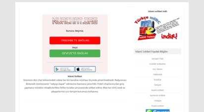 nurchat.org - nurchat.org - islami sohbet odaları dini sohbet sitesi
