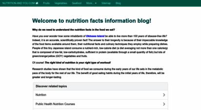 nutrition-and-you.com