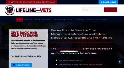 nvf.org - national veterans foundation