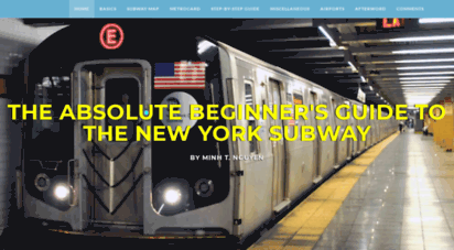 nycsubwayguide.com - the absolute beginner´s guide to the new york subway
