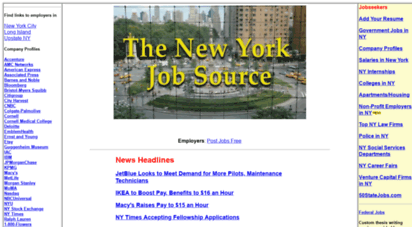 nyjobsource.com - ny jobs - search for ny jobs at nyjobsource.com