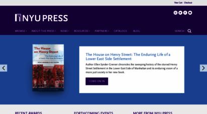nyupress.org - nyu press