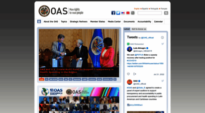 oas.org - oas - organization of american states: democracy for peace, security, and development