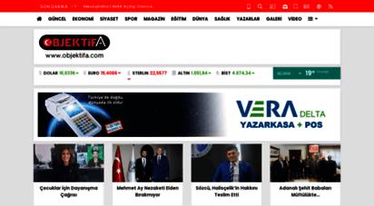 objektifa.com - objektifa adana´nın en tarafsız, doğru ve hızlı haber sitesi