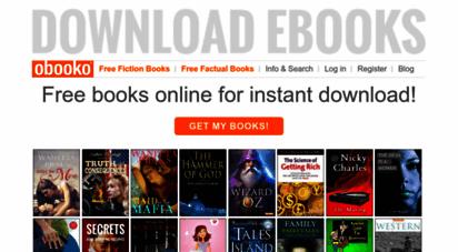 obooko.com - free books online  read & download pdf, epub, kindle