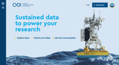 oceanobservatories.org - ocean observatories initiative