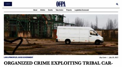 ocpathink.org - home - oklahoma council of public affairs