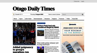 odt.co.nz - otago daily times online news  otago, south island, new zealand & international news