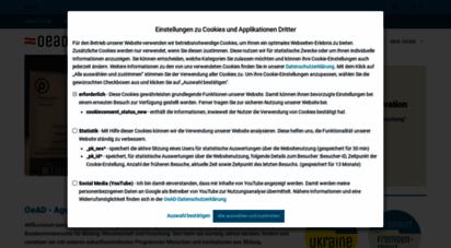 oead.at - österreichischer austauschdienst oead