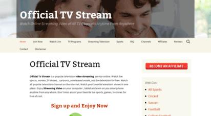 officialtvstream.net