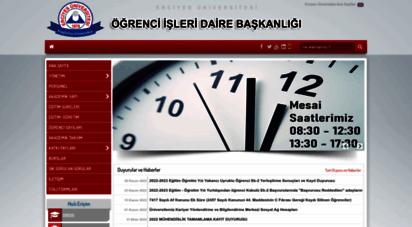 ogrisl.erciyes.edu.tr - ..::öğrenci işleri daire başkanlığı::..
