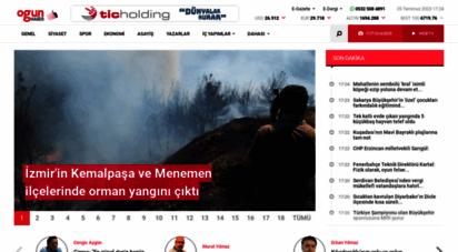 ogunhaber.com - ogün haber - günün önemli gelişmeleri, son dakika haberler