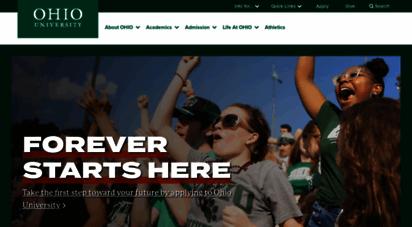 ohio.edu - welcome to ohio university