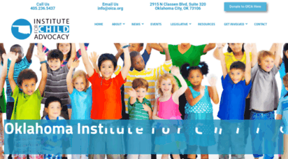 oica.org - home - oklahoma institute for child advocacy