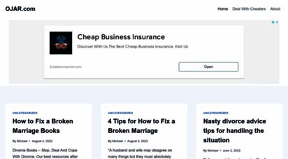 Welcome to Ojar com - OJAR - Relationship Support