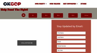 okgop.com - oklahoma gop  oklahoma republican party